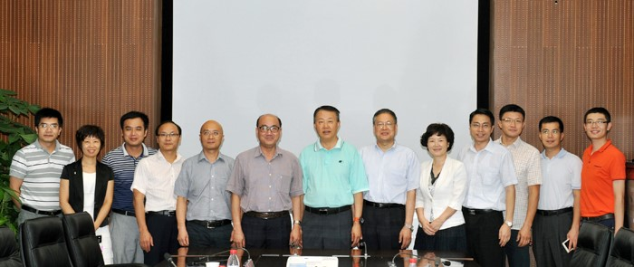 The Deputy Secretary of the Party Committee of South China Normal University Xiaobo Huang and Fellows Visited SUSTC