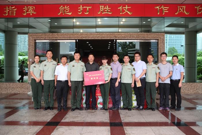 SUSTC Delegation visits SZ Public Security Frontier Detachment