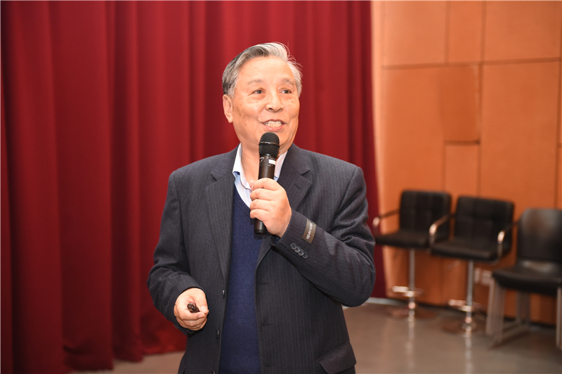 Academician He Xianshi Talked about His Life of Science at SUSTC Lectures