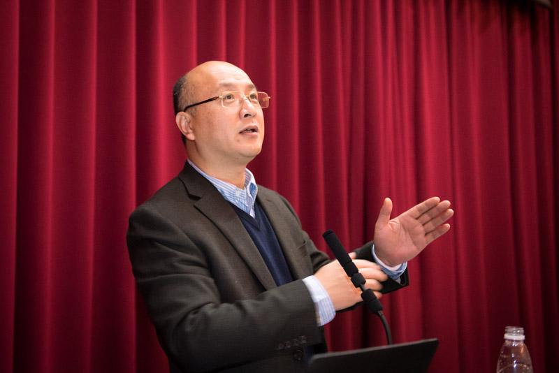 Professor Xu Ruiming Gives Lecture on Molecular Mechanism in Epigenetics