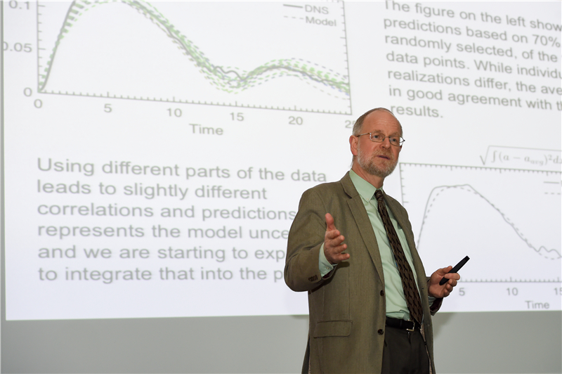 Prof. Gretar Tryggvasonfrom University of Notre Dame gives lecture at SUSTech