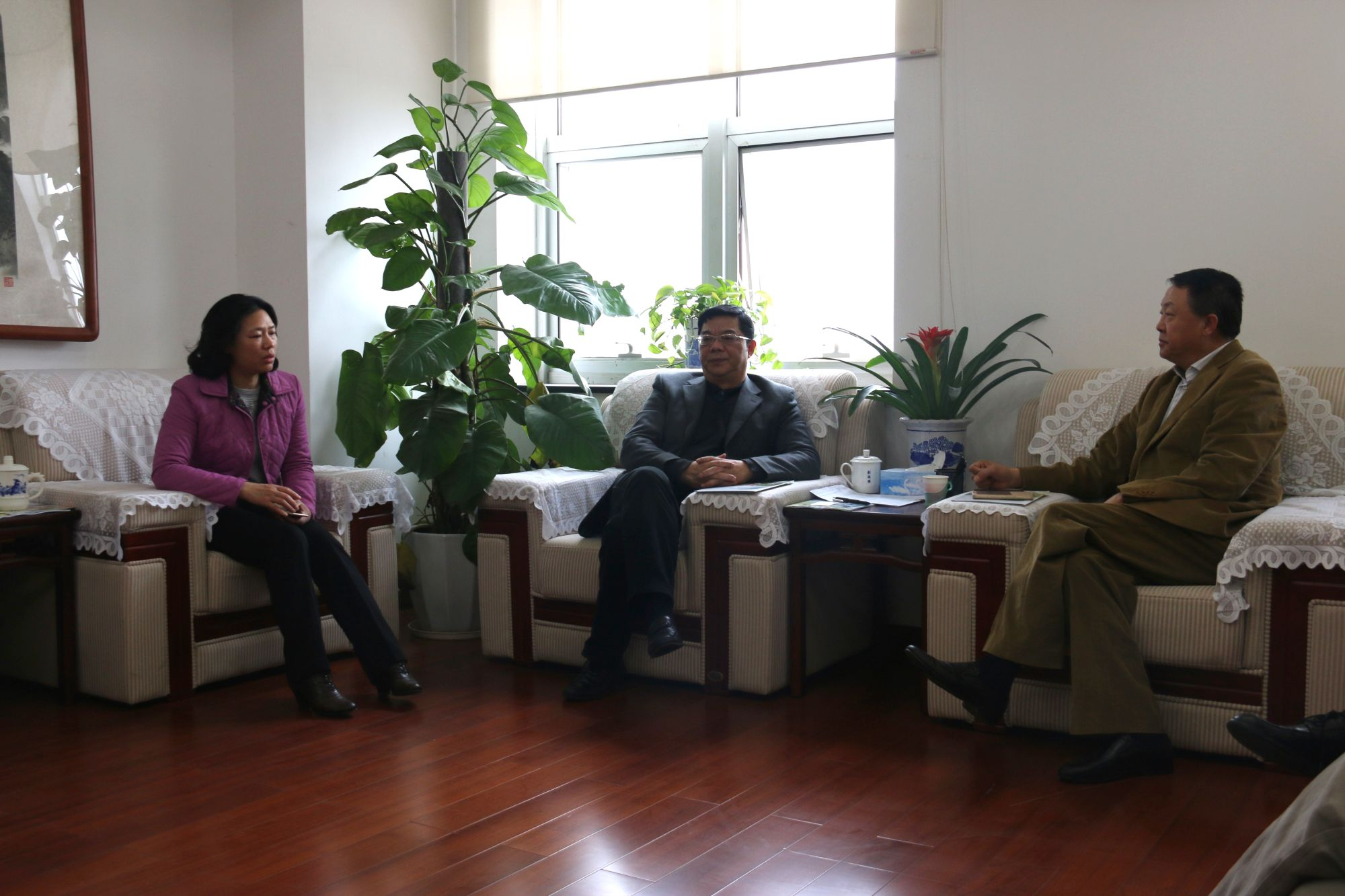 SUSTech Chairman LI Ming visits Education and Examination Institute of Jiangxi Province