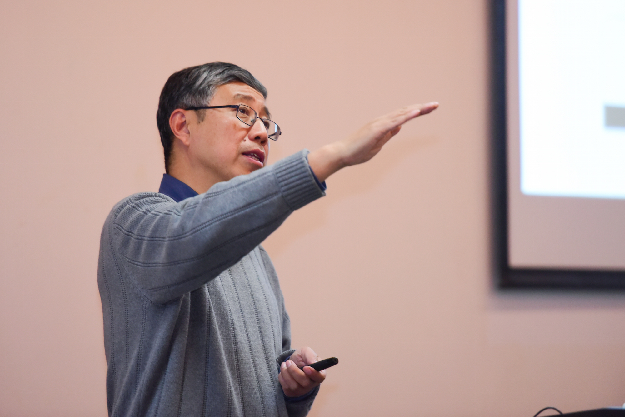 Famous Mathematician Tian Gang Elaborated on Poincare Conjecture & Beauty of Geometry in SUSTech Lecture