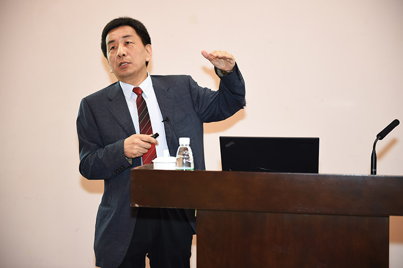 Prof. Ni Jinren Talks about River Improvement in SUSTech Lecture