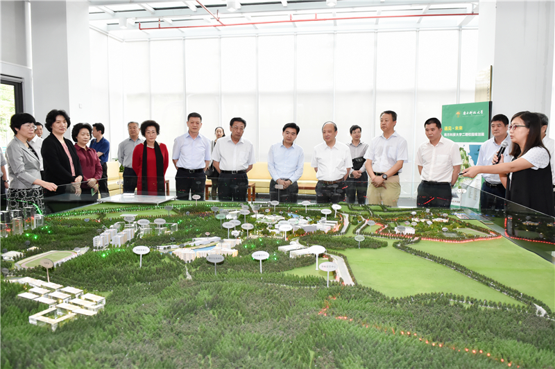 Provincial CPPCC Chairman Wang Rong Visits SUSTech