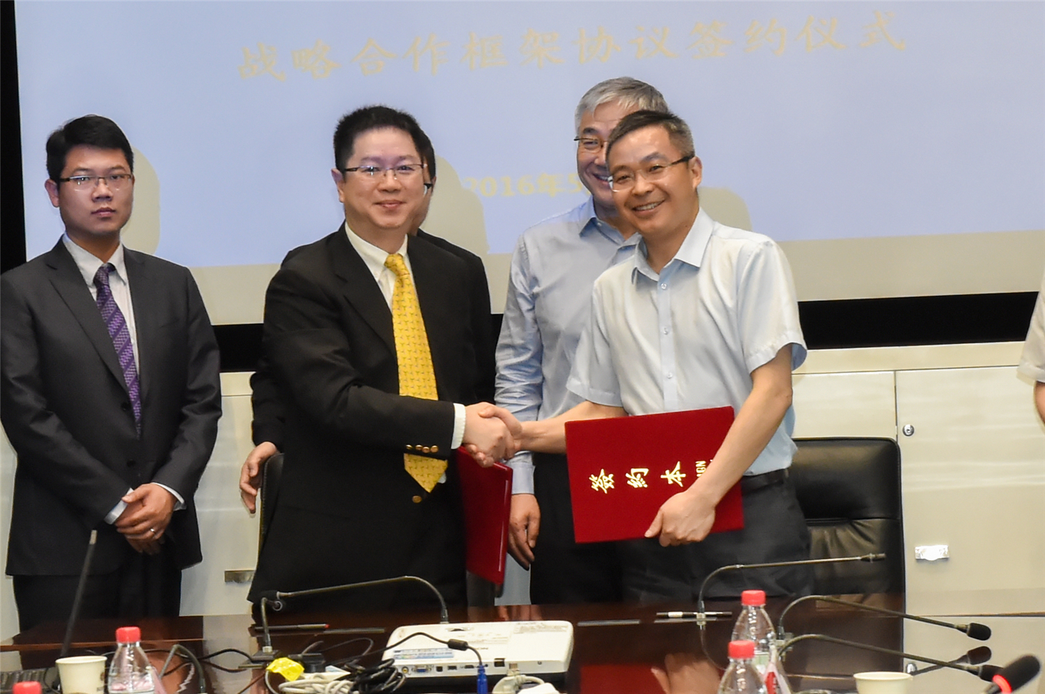 SUSTech and Horae Oriental Sign a Strategic Cooperation Framework Agreement