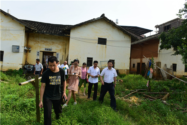 Help the Needy: SUSTech Vice President Qin Zheng Leads a Team to Undertake Poverty Alleviation Activities in a Village of Heyuan City