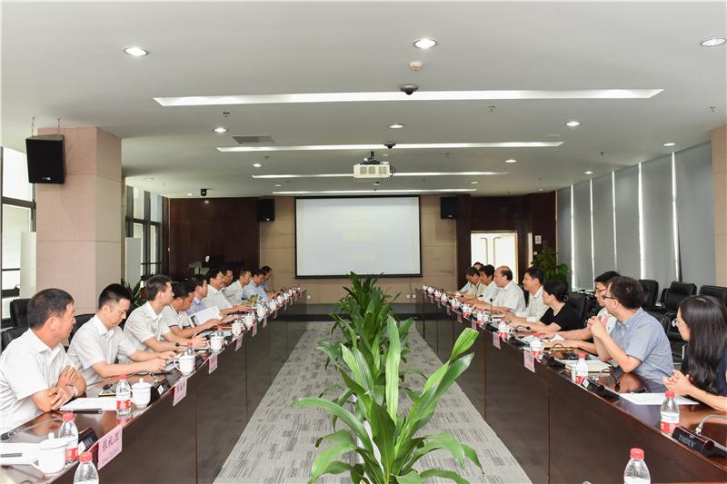 Delegation of Taizhou Municipality Led by Mayor Zhang Bing Visits SUSTech