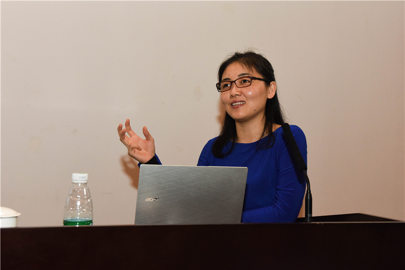 Prof. Yan Ning Expounds the Beauty of Biological Structure