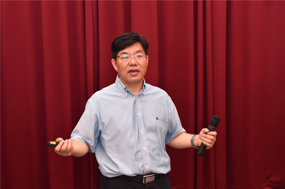Academician Chen Xianhui Gives a Lecture about Superconductor