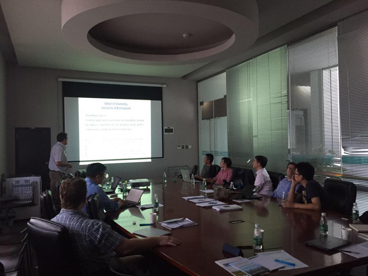 UoB delegation visits SUSTech for academic exchange