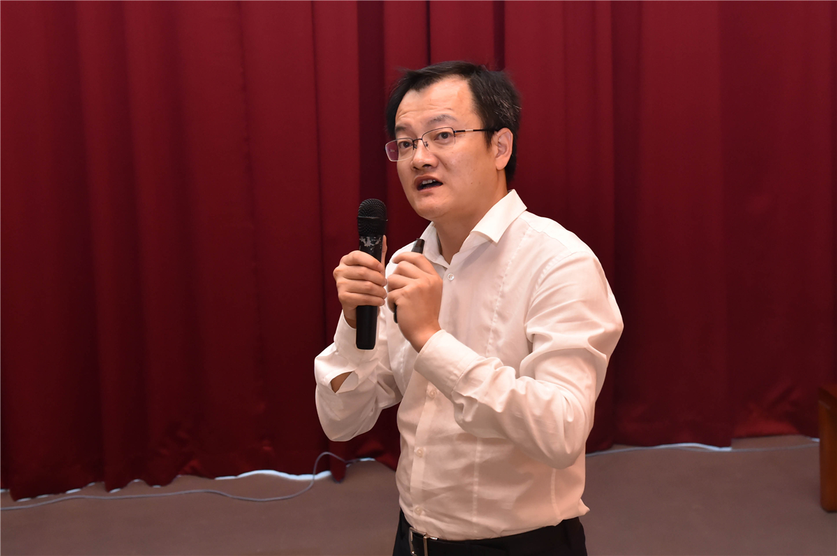 Academician Du Jiangfeng Talked about Quantum Revolution at SUSTech Lecture