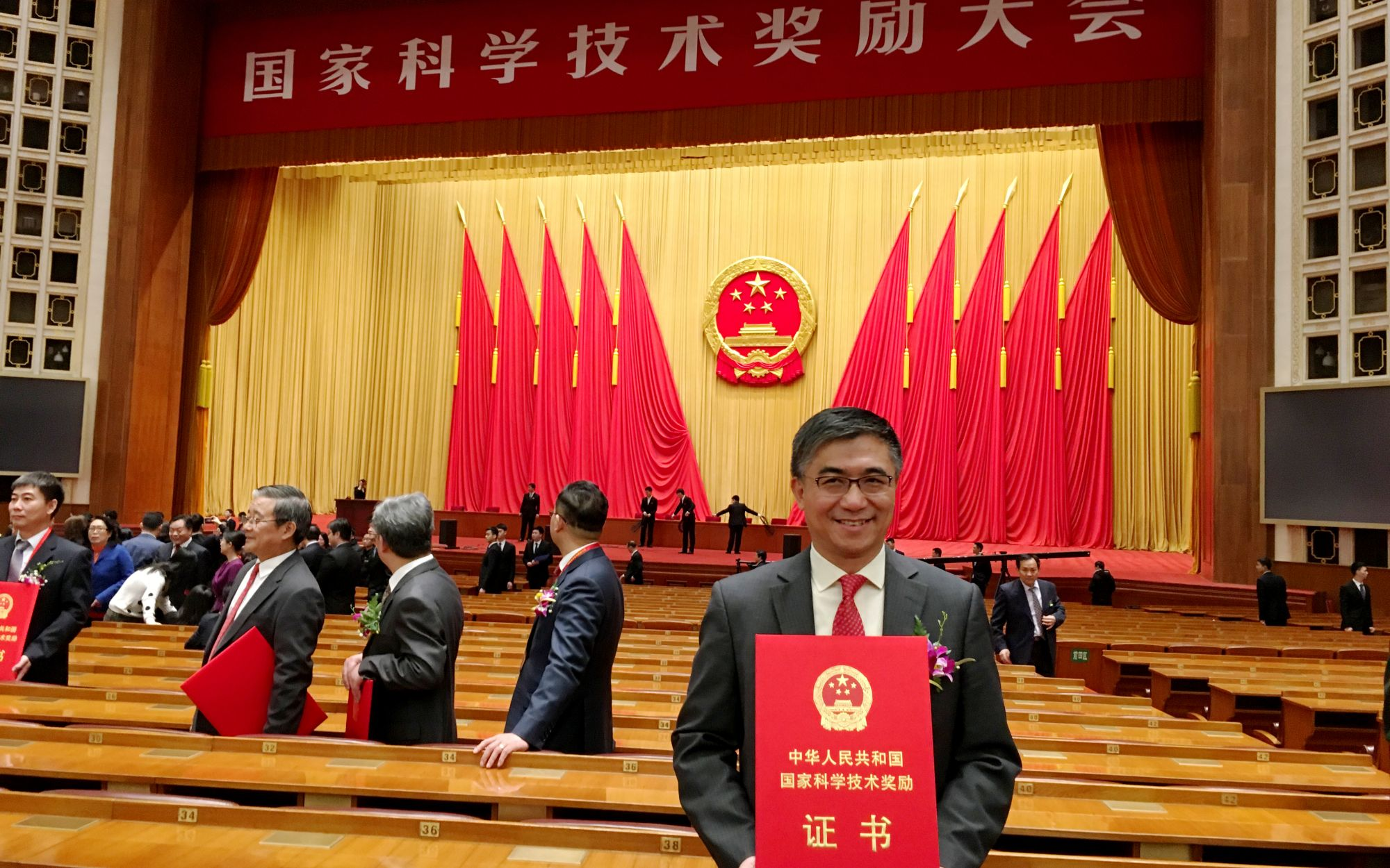 SUSTech Vice President Tang Tao wins Second Prize of 2016 National Natural Science Award