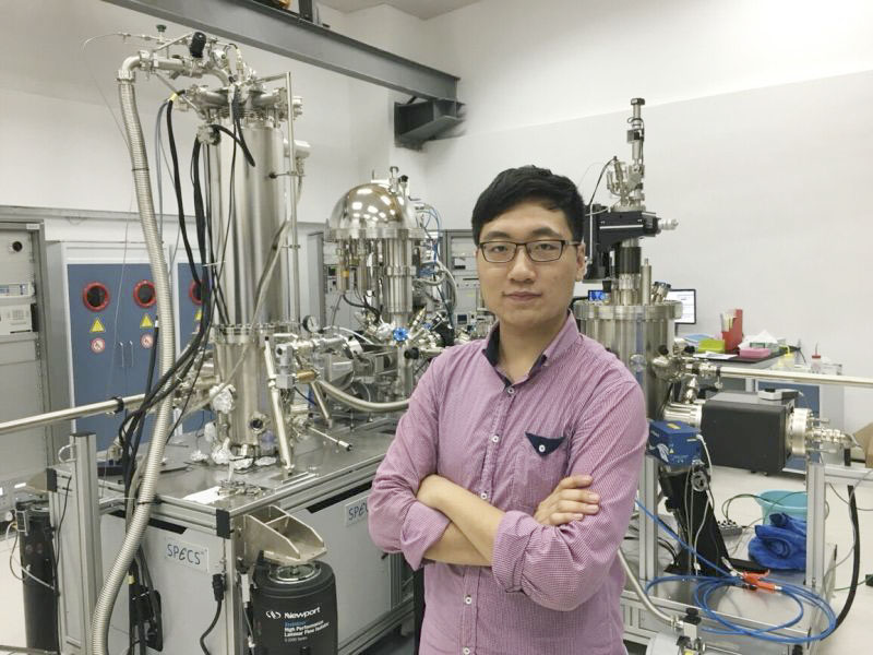 "2017 Graduate Lu Qiangsheng: ""addicted"" to his SUSTech Lab"