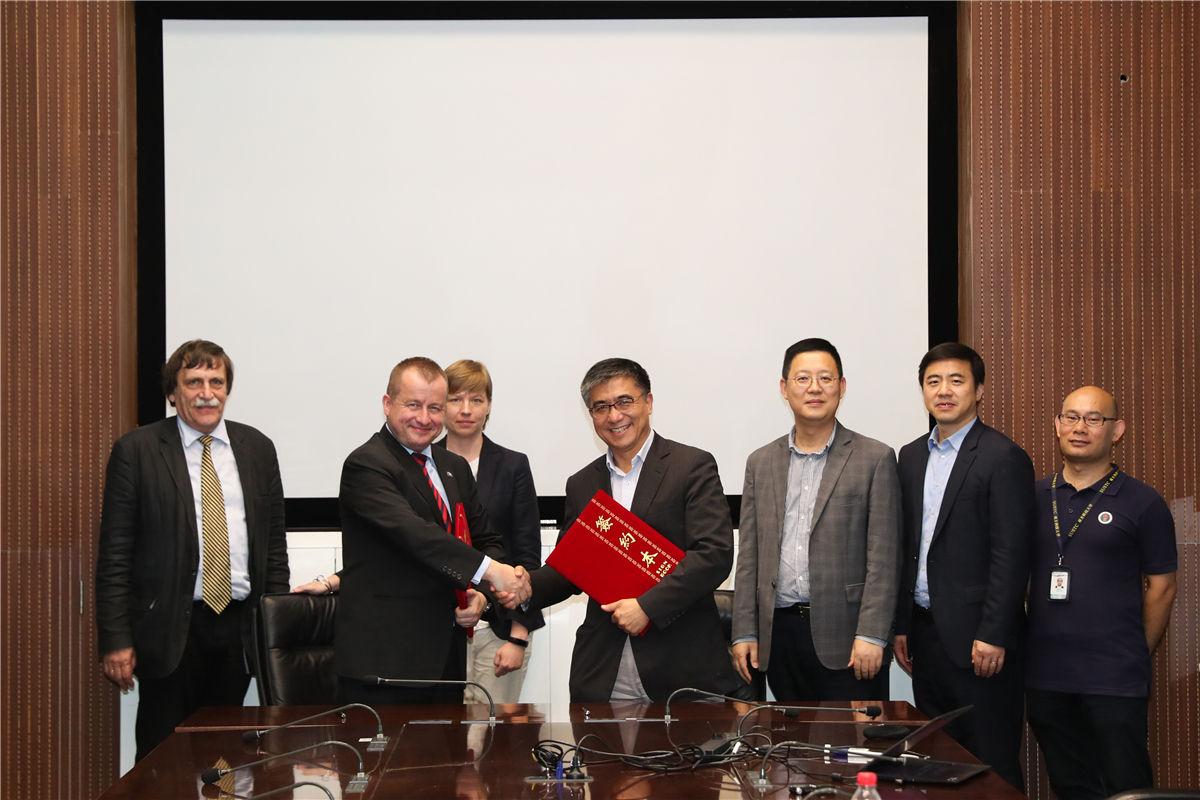 SUSTech signs Memorandum of Cooperation with Jagiellonian University, Poland