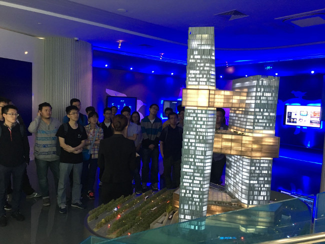 SUSTech teachers and students visit Shenzhen's Tencent headquarters in Nanshan