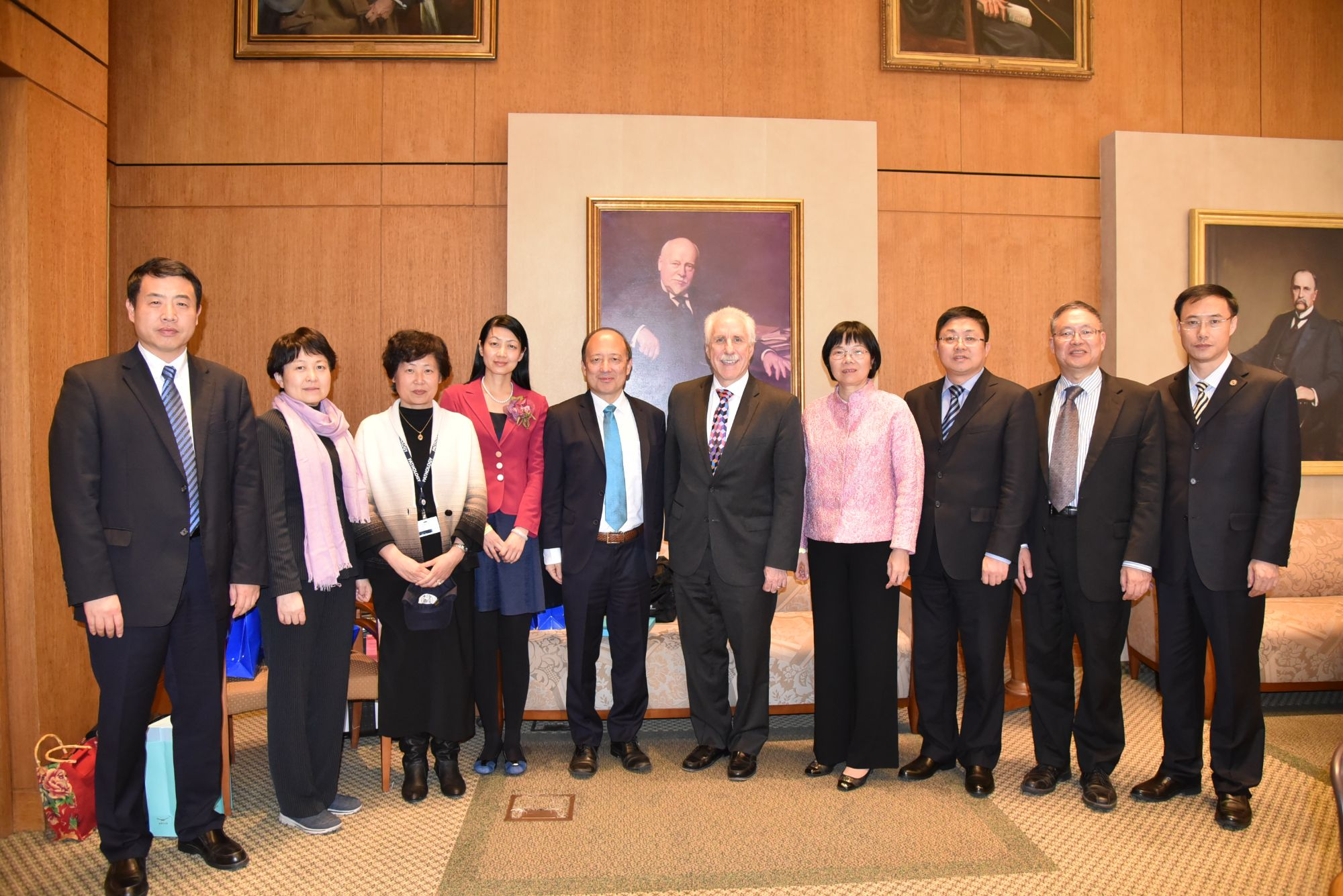 SUSTech and Shenzhen Municipal Government Delegation Visits Johns Hopkins University to Promote Bilateral Cooperation