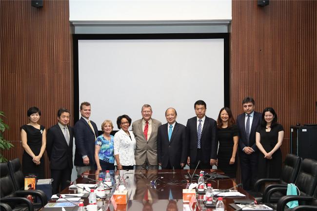 President Richard Englert of Temple University, Pennsylvania, visits SUSTech