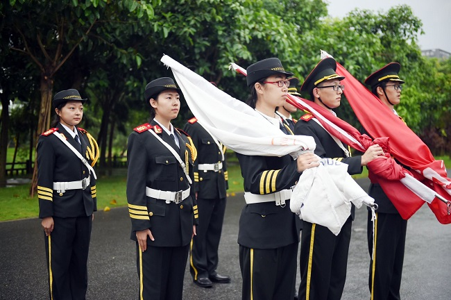 National flag-raising ceremony held at SUSTech on National Day
