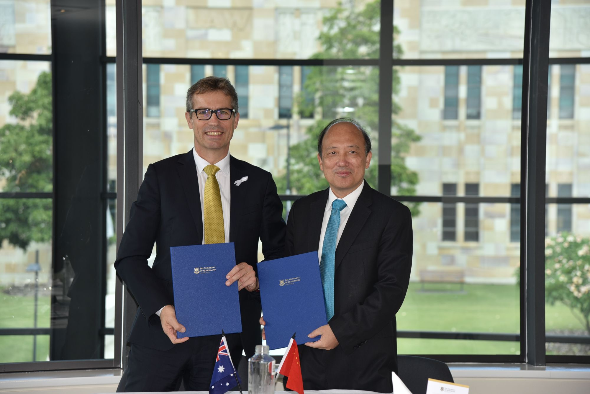 UQ and SUSTech sign Letter of Intent to strengthen relations