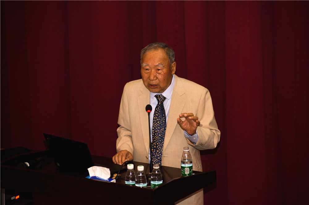 Academia Sinica Academician Ting Pang-Hsin Lectured on Poetry Metrics and Composition