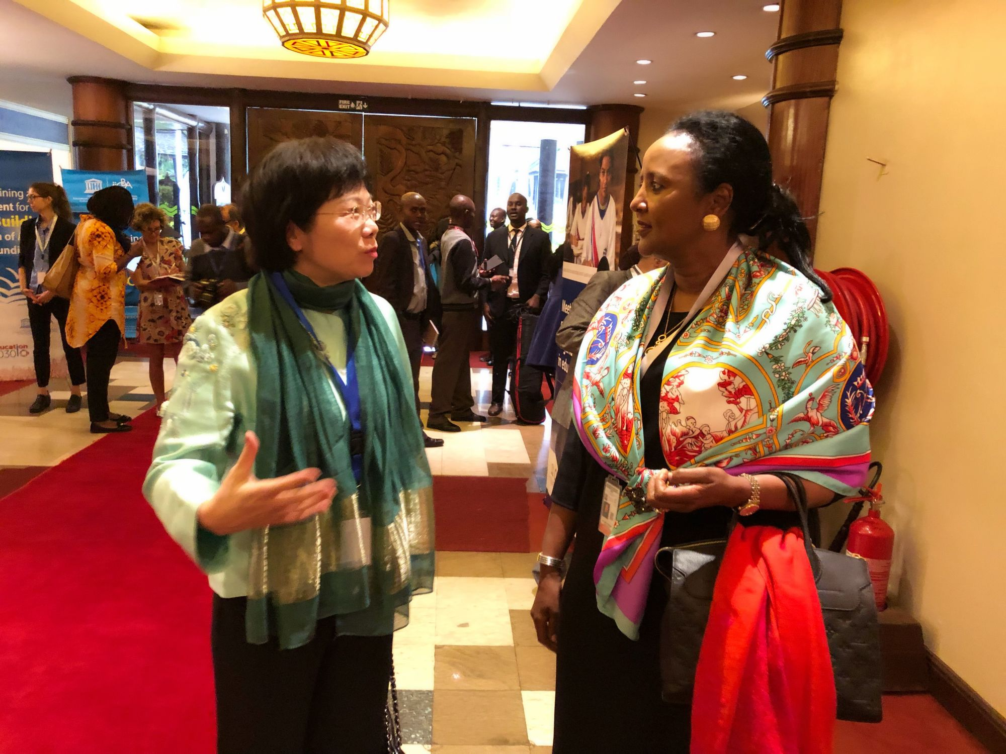 Chairperson Guo Yurong Attends Pan-African High-Level Conference on Education
