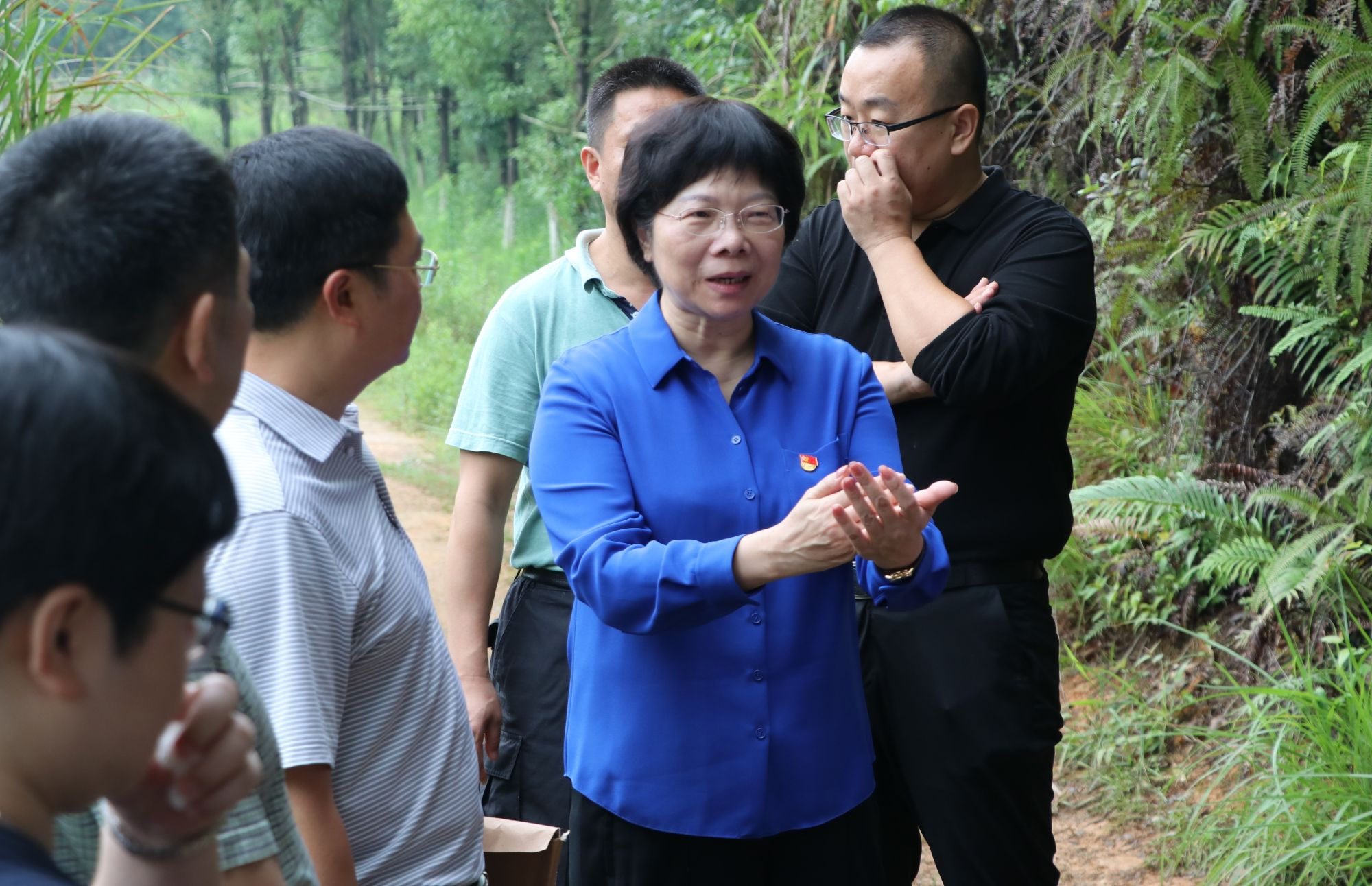 University Council Chairman Organized Poverty Relief Work in Heyuan, Guangdong