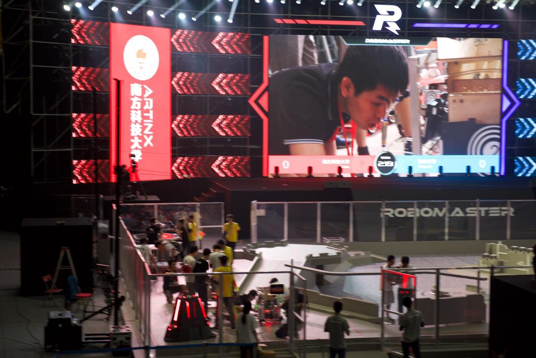 "SUSTech's ""Artinx Robot Team"" Won Third Prize at RoboMaster South China Regionals"