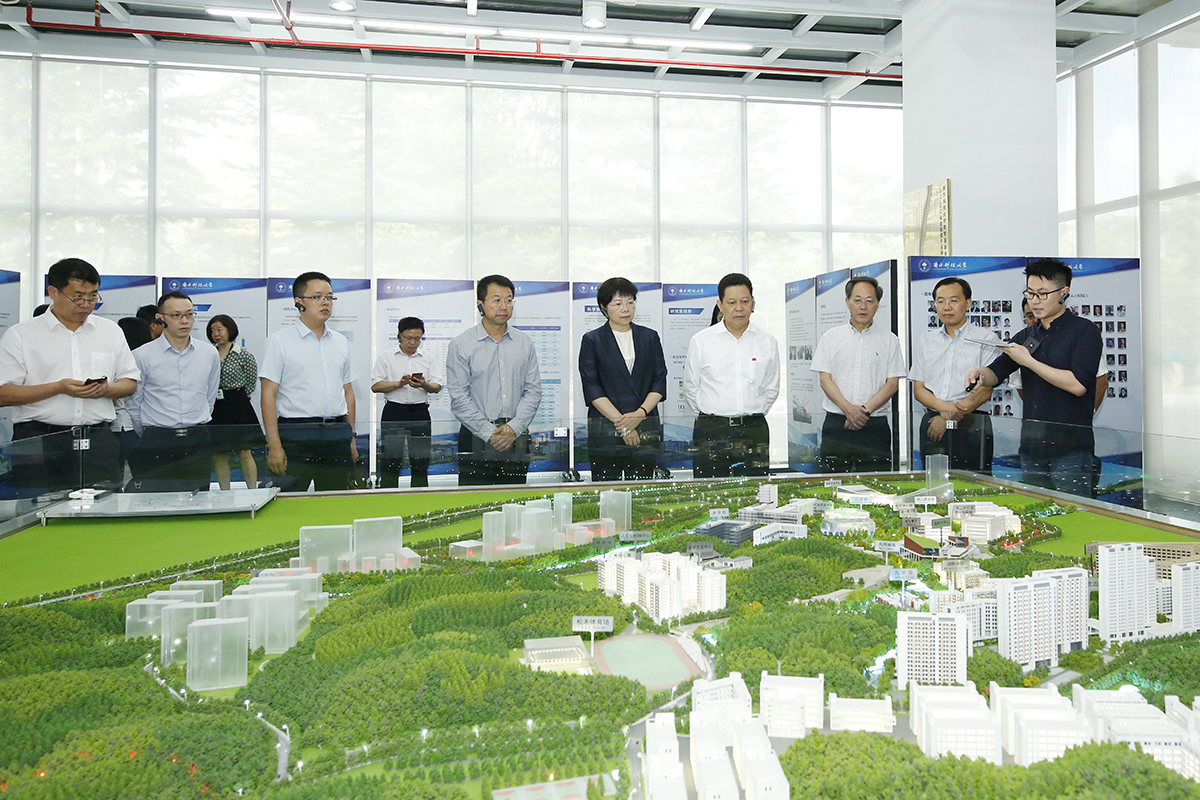 Vice Governor of Sichuan Province Visits SUSTech