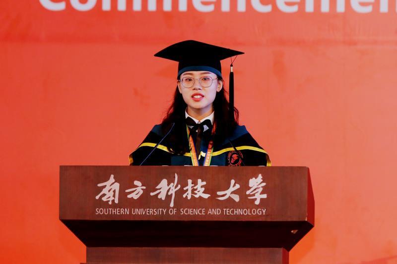 We Are All Entrepreneurs — Class of 2018 Representative Guo Tianzi's Graduation Speech