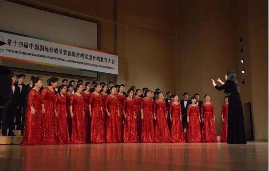 SUSTech Choir Won Silver Medal in 14th China International Choral Festival