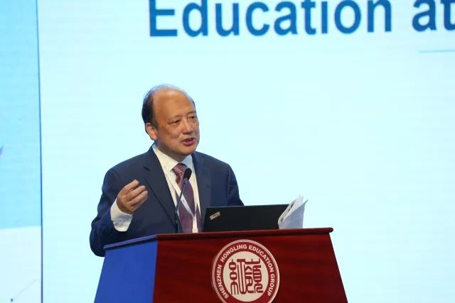 President Chen Shiyi Delivered Speech on STEM Education