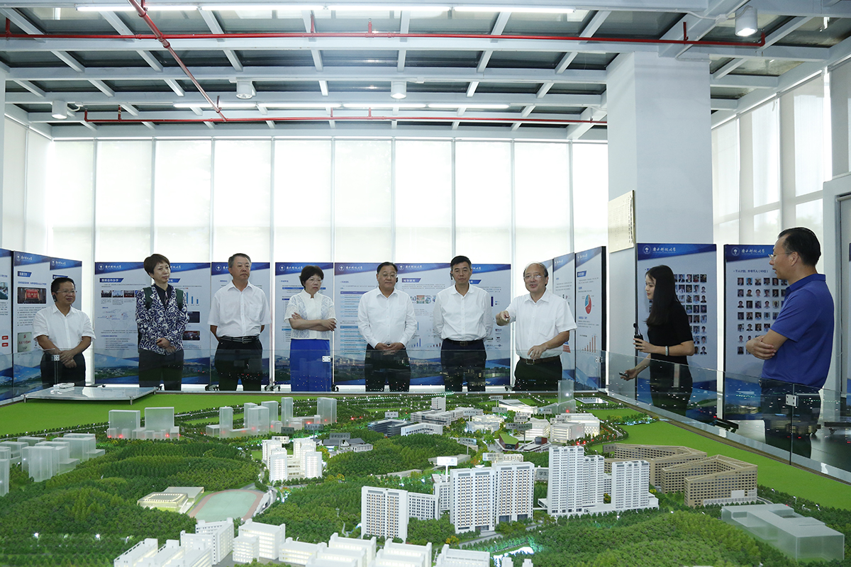 Standing Member of Shenzhen Municipal Committee Visits SUSTech