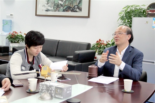 Shanghai Middle School Students interview with SUSTC President Chen Shiyi – I choose SUSTC in spite of the big world