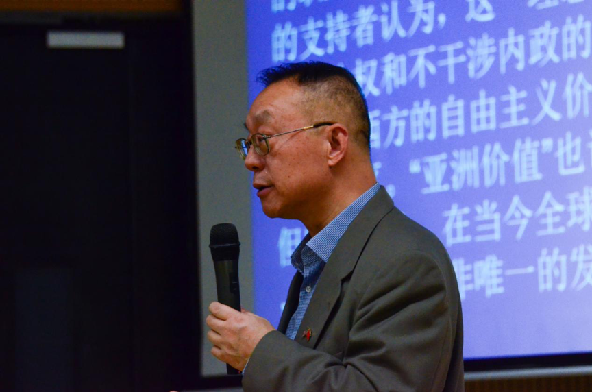 Professor Yin Xiaohuang talks of new trend of humanities and social sciences in globalization