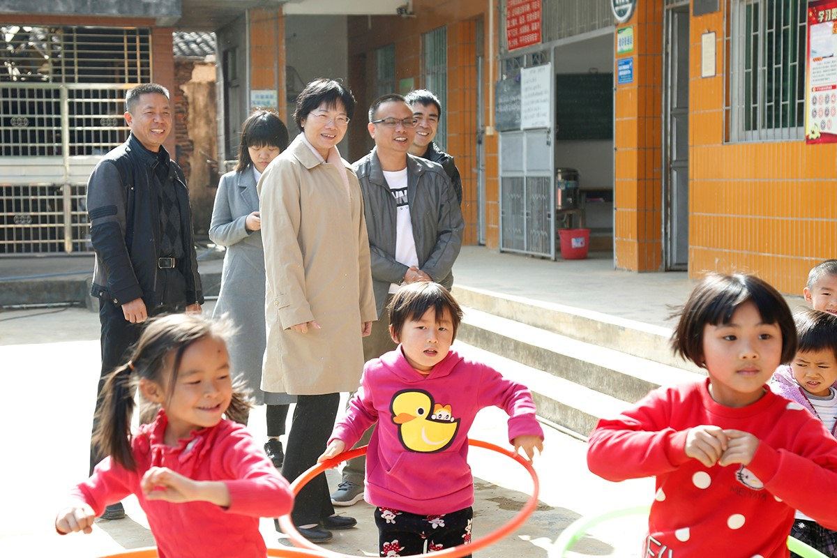 Chairperson Guo Yurong travelled to Heyuan