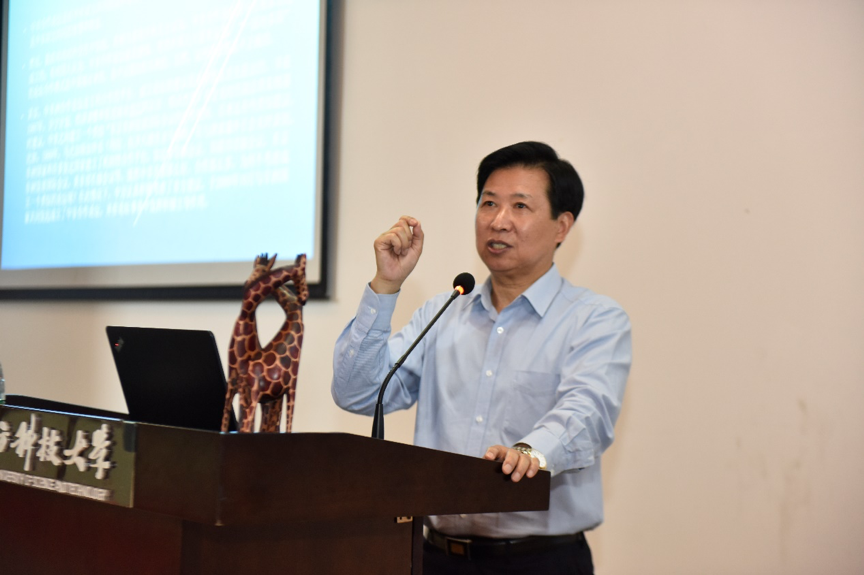 Diplomat talks about the Forum of China-Africa Cooperation at SUSTech