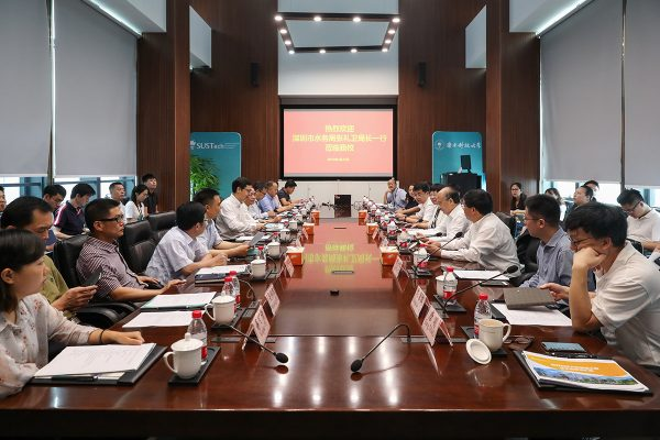 Zhang Liwei, Director of Shenzhen Water Affairs Bureau visited SUSTech