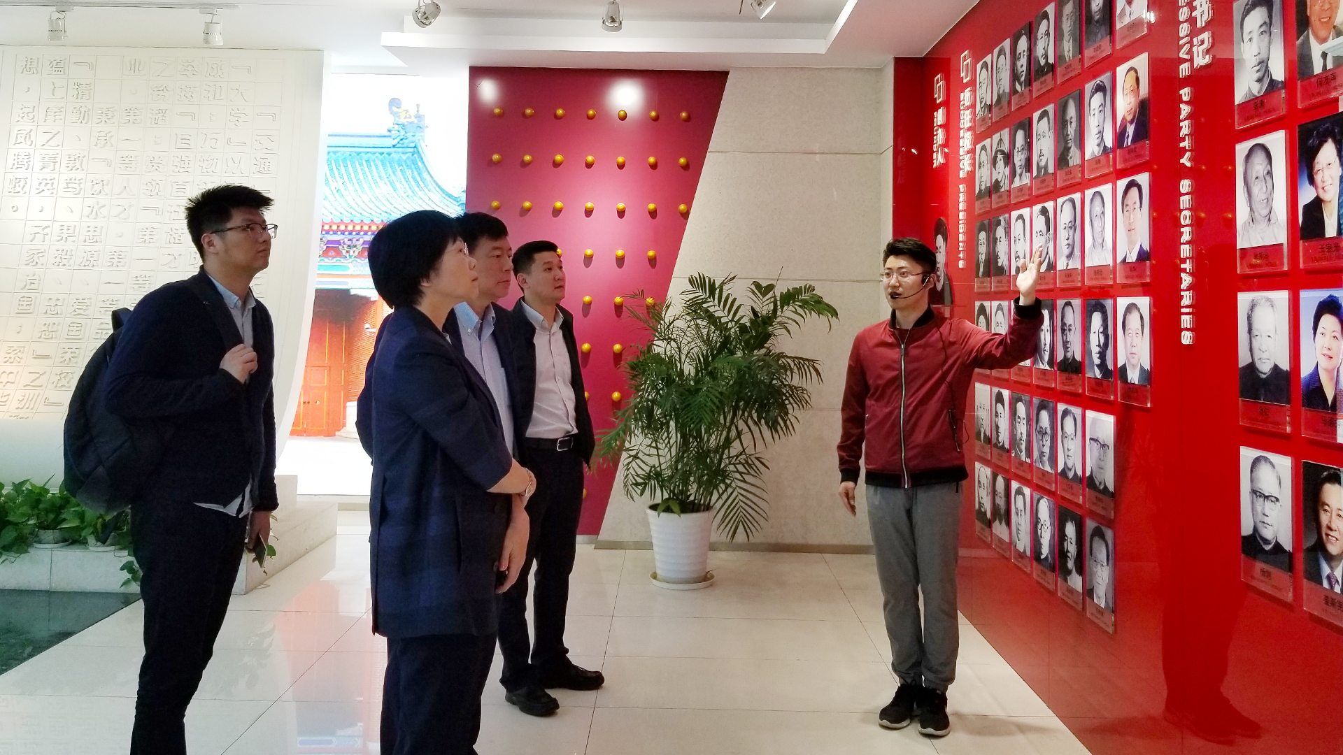 SUSTech Chairperson led delegation to Shanghai Jiaotong and Xiamen Universities