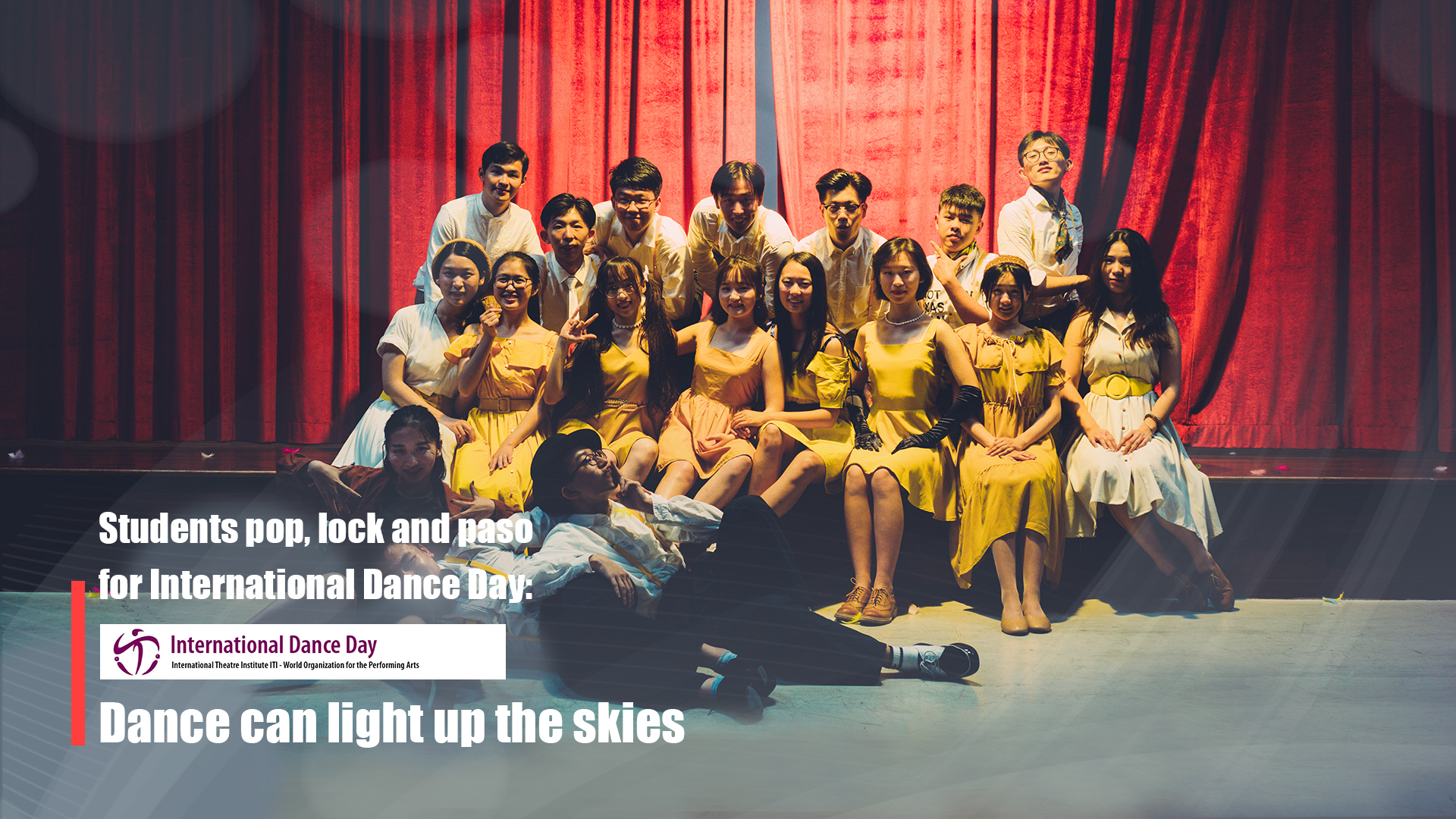 Students pop, lock and paso for International Dance Day: Dance can light up the skies