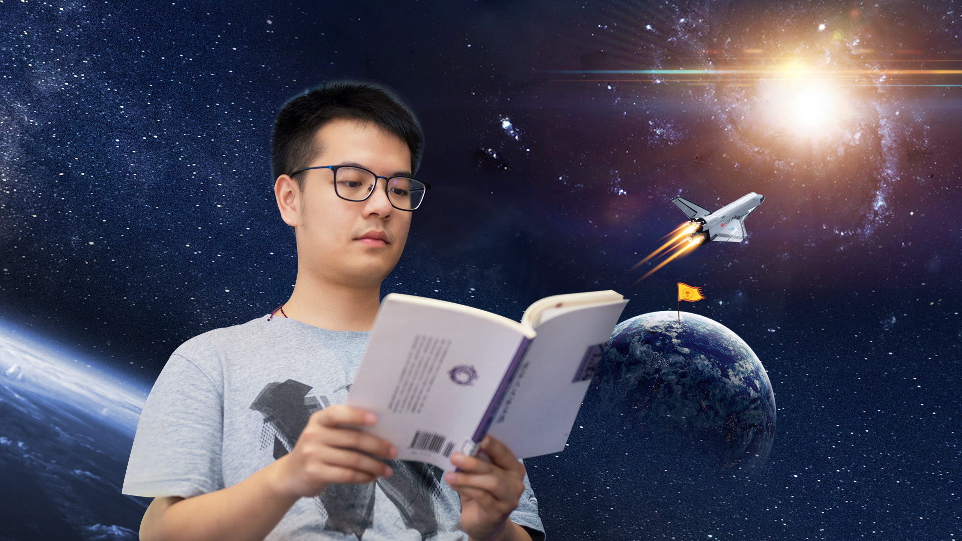 Top Ten Graduate He Zilong: Starting at SUSTech, his eyes are opened