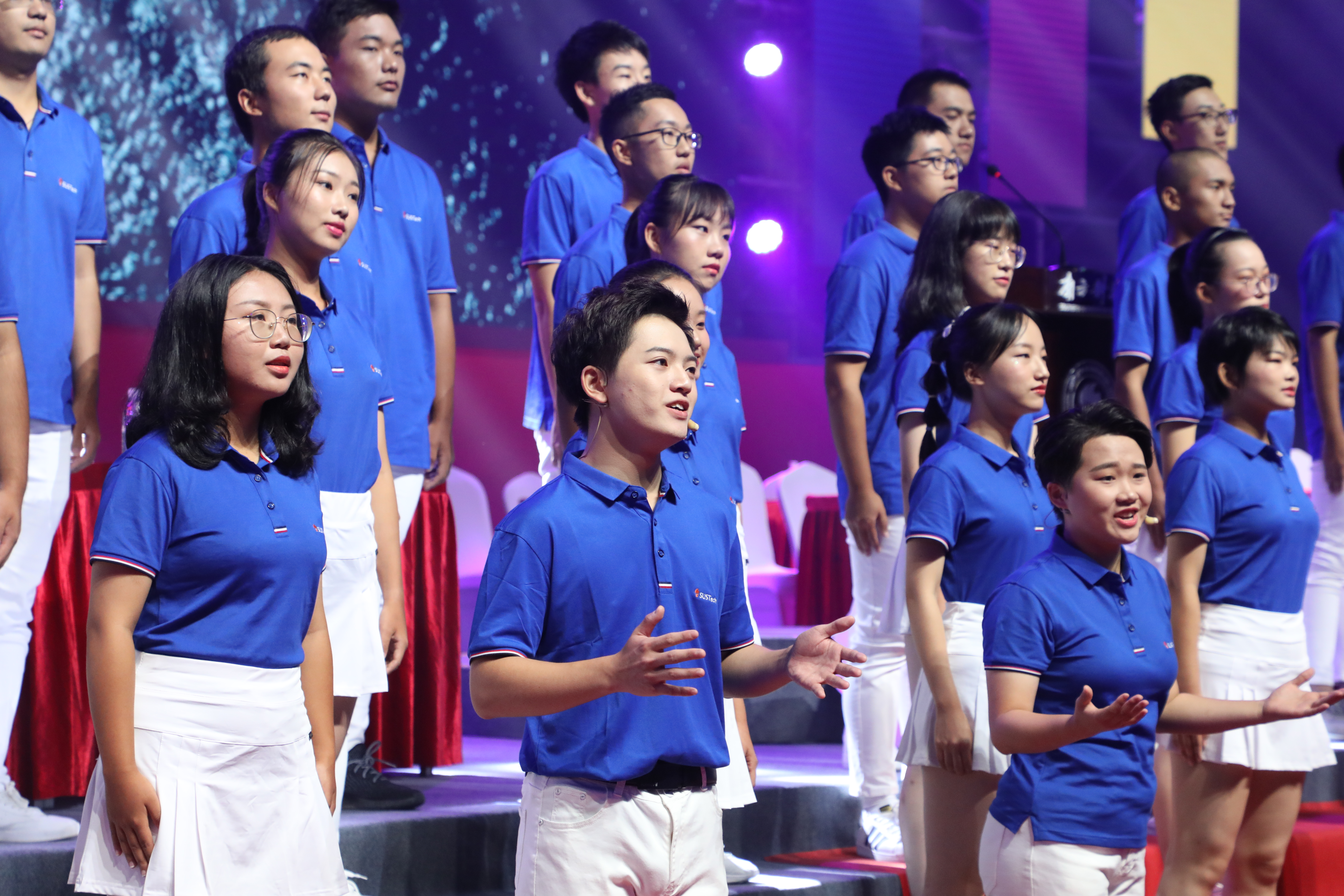 Warm up Chorus on SUSTech Convocation 2019: Dream on the road