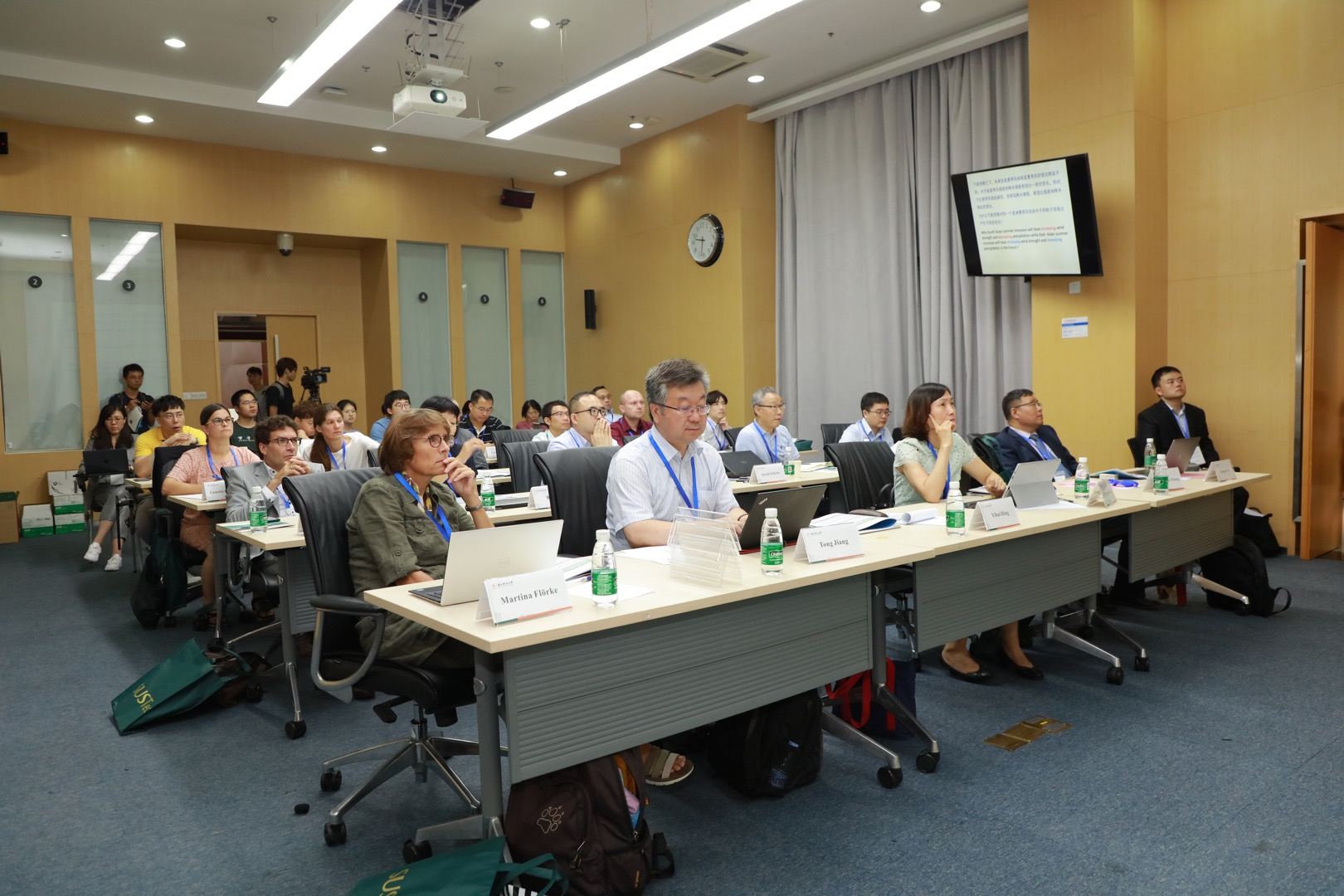 ESE hosts international workshop on water resources and climate change