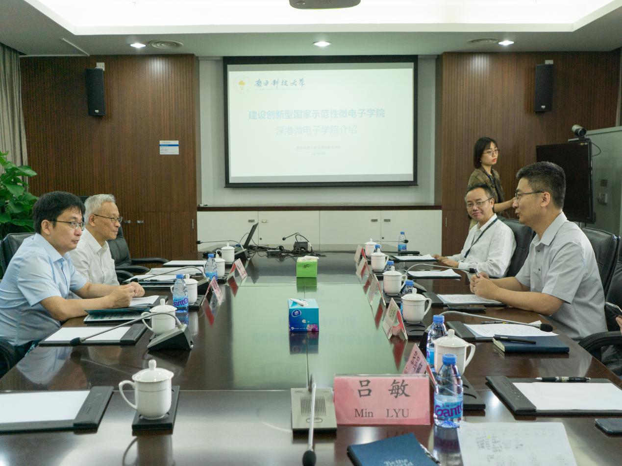 HK Polytechnic University Vice President comes to SUSTech