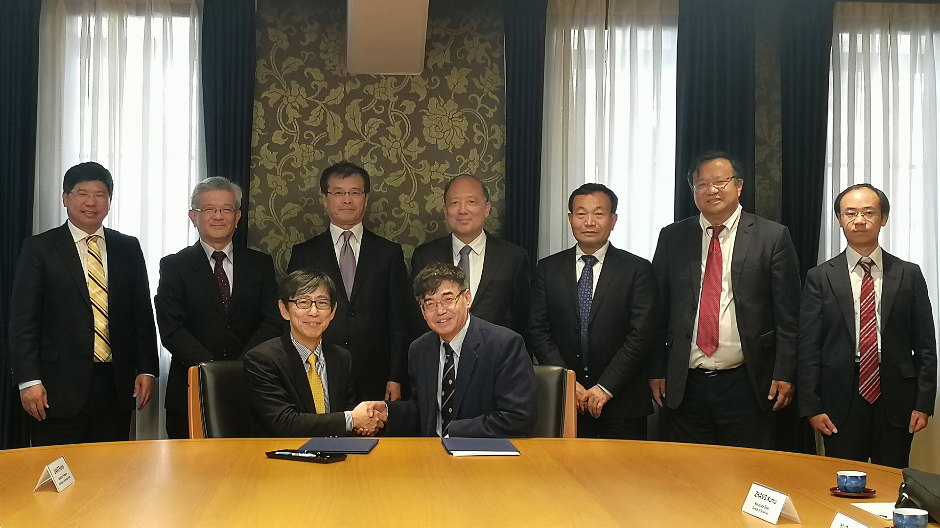 SUSTech President leads delegation to Japan, signs cooperation agreements