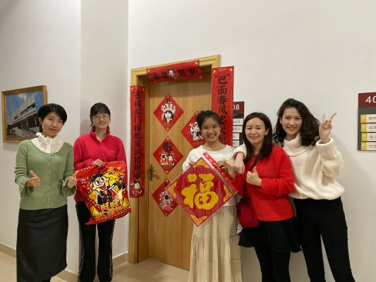 Happy Chinese New Year! A Special Reunion in Campus