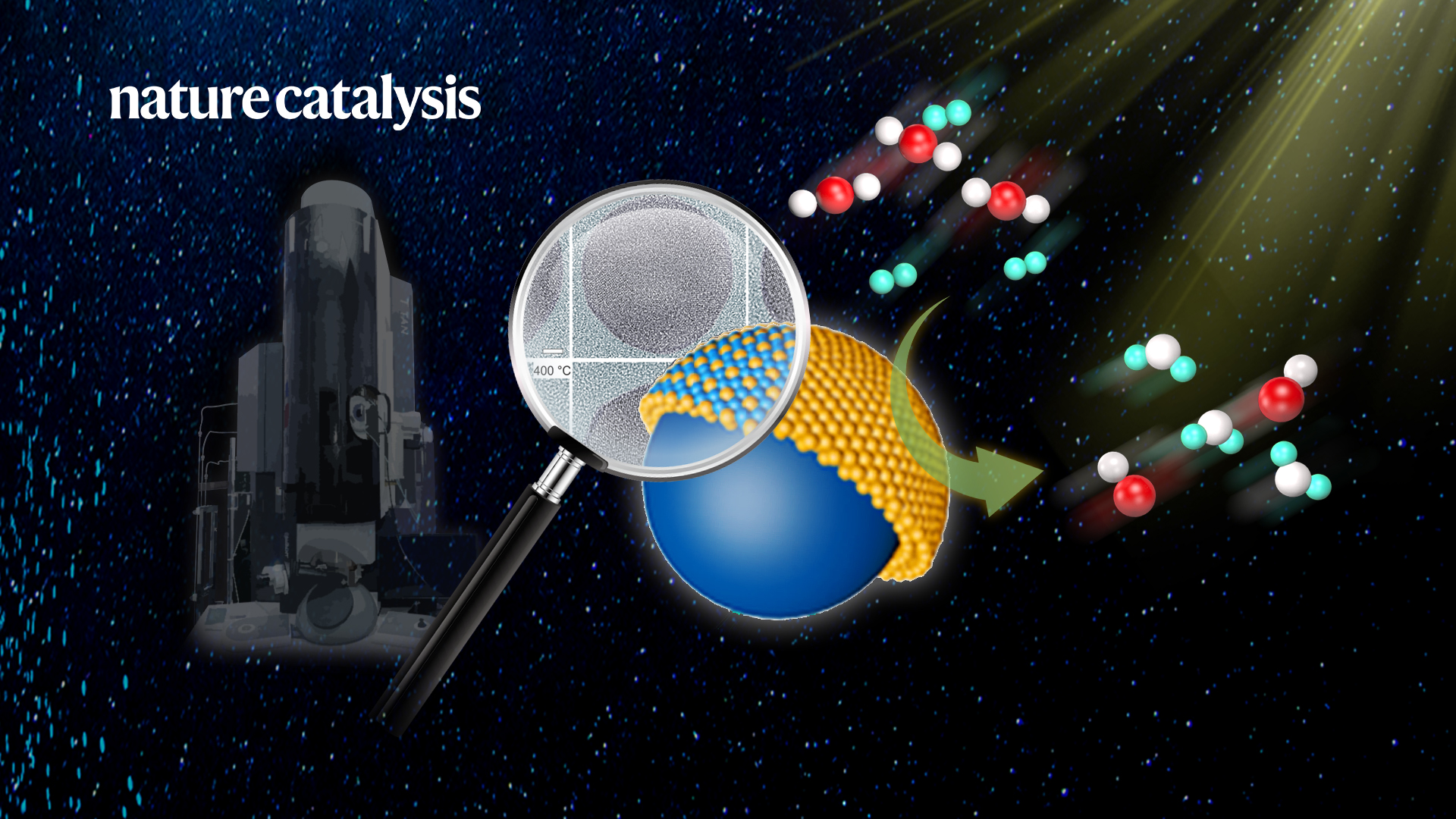 True behavior of metal catalysts revealed under ETEM by Chinese researchers