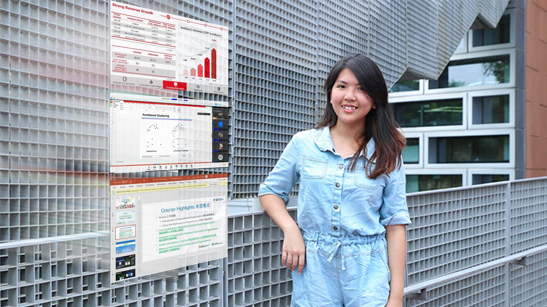 Malaysian finance student excels in online learning environment