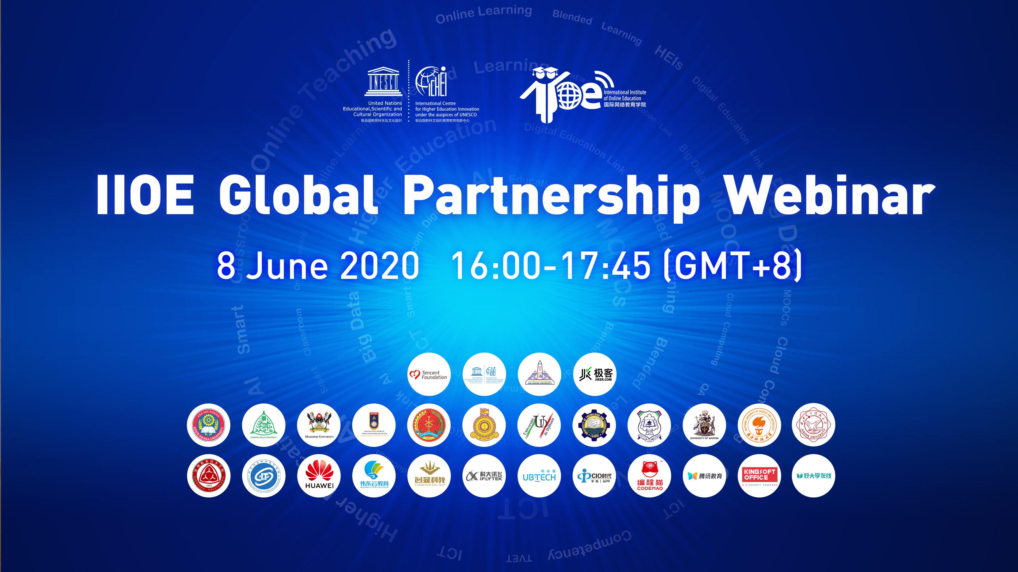 IIOE Global Partnership Webinar successfully held