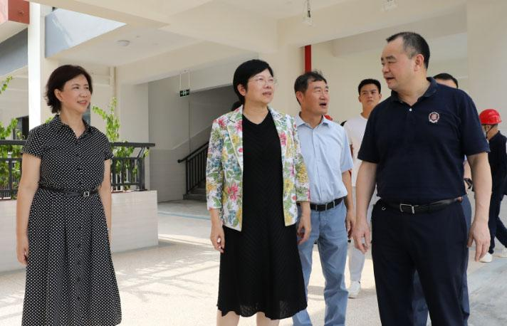 SUSTech Chairperson visits HSAS